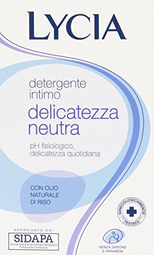 Lycia - Detergente Intimo, Delicatezza Neutra - 250 ml
