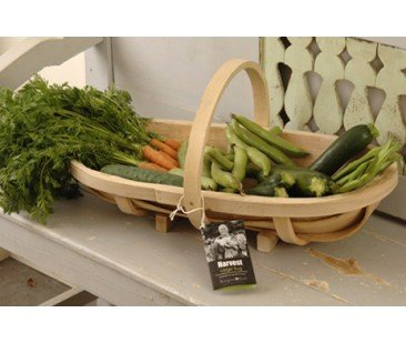 Burgon and Ball Traditional Large Wooden Trug