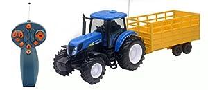New Ray 09617 - Remolque para Tractor