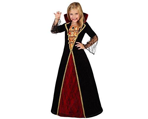 Atosa 22759 Disfraz Vampiresa, Negro, 7 a 9 años