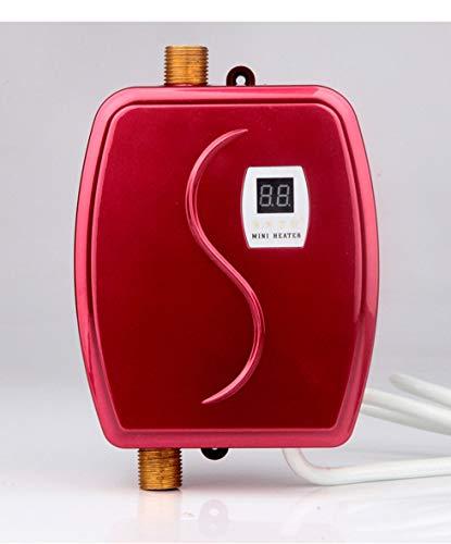 WG Sofortiger elektrischer Warmwasserbereiter Heißwasserhahn Küche Schnelle Heizung Thermostat Temperaturanzeige Heizung 110 V / 220 V,B