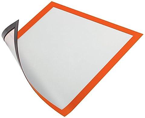 Durable 486909 Duraframe Magnetic Cadre d'Affichage Magnétique pour Document A4
