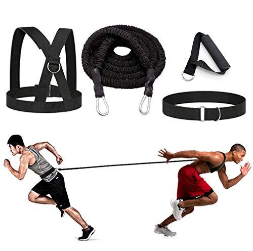 sunSign Widerstandstraining Seil Körperliches Training Widerstandsseil-Kit für Arme und Beine Geschwindigkeits-Beweglichkeitstraining Geschwindigkeit und Kraft verbessern (3m Kit) -