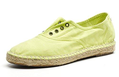 Natural World Eco Baumwoll-Turnschuhe Slippers für Damen