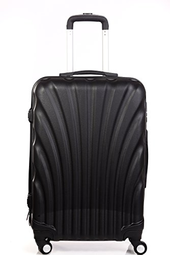 Americano Trolley Bag Polycarbonate 60 Ltrs Black
