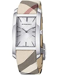 BURBERRY BU9403 - Reloj , correa de nailon color beige