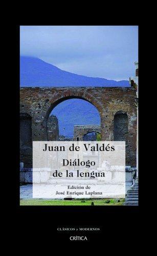 Diálogo de la lengua Cover Image
