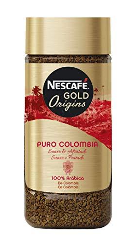Nescafé Café Puro Colombia Café Soluble, Bote de cristal - 100 gr de Café