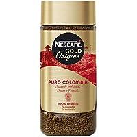 Nescafé Puro Colombia - Café Soluble - Pack de 3 x 100 g