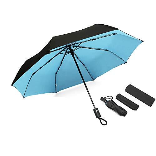 Paraguas Plegable Antiviento Grande Apertura Automática