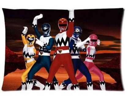 Power Rangers Kissenbezüge Custom 50.80 cm x 76.20 cm zwei Seiten Cool Bequemes Kissen (Ranger Power Custom)