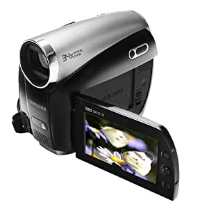Samsung VP-D381 Camcorder (miniDV, 34-fach opt. Zoom, 6,9 cm (2,7 Zoll) Display)