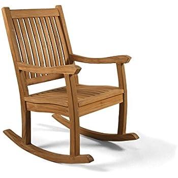 Premier Grade A Teak Wooden Rocking Chair   Outdoor Wood Rocking Chair