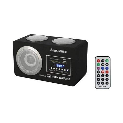 New Majestic BT-273Radio 2W USB/SD/AUX BT C/Fernbedienung Schwarz -