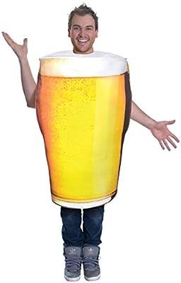 Bristol Novelties - Disfraz para adultos de vaso de cerveza