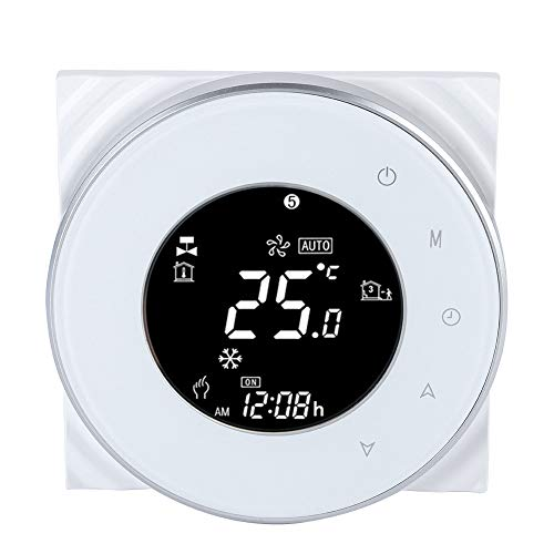 Elektrischer Wifi-Thermostat LCD-Touchscreen-Thermostat-Support-App-Unterflur-Temperaturregler