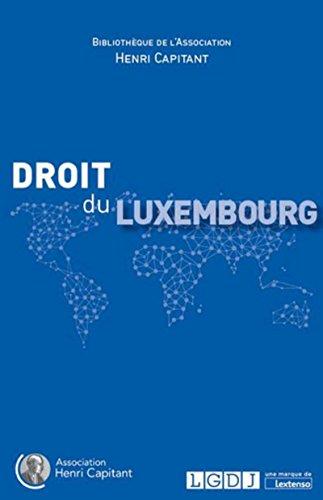 Droit du Luxembourg par Collectif