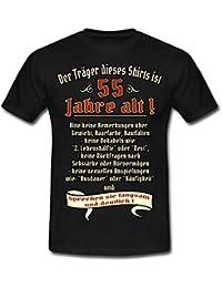 Spreadshirt Geburtstags Shirt Träger Ist 55 Rahmenlos Geschenk Männer T- Shirt 733e9a006d