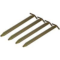 4 St.Campiro® T-Profil Eisen Heringe 50cm Pavillon Zelt Vorzelt Erdnägel Camping
