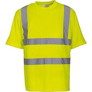 Yoko Herren yk025/hvj410Hi Vis Short Sleeve T-Shirt