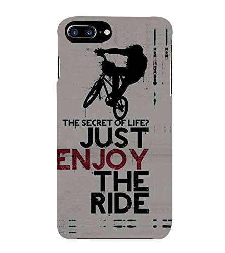 Fiobs Stunt Rider Bike Racer Phone Back Case Cover for Apple iPhone 7 Plus (5.5 Inches)  available at amazon for Rs.397