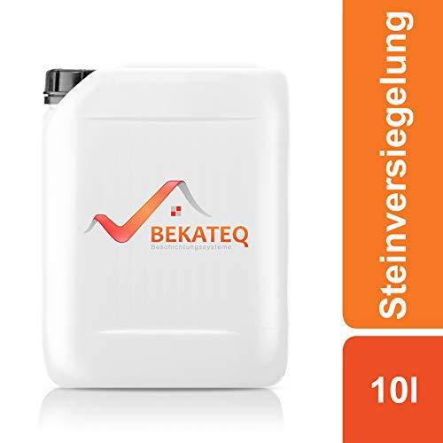 Bekateq BE-840 Steinversiegelung, 10l, farblos, seidenglänzend, imprägniert und schützt Naturstein und Kunststeine vor Umwelteinflüssen