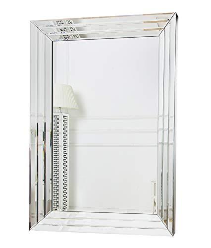 RICHTOP - Espejo de Pared con Borde Biselado