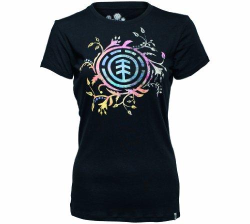 Element T-shirt Frilly Sscn pour femme noir