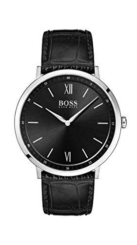 Hugo Boss Watch Orologio Analogico Quarzo Uomo con Cinturino in Pelle 1513647