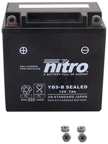 NITRO YB9 B-N- SEALED-Batteria Moto chiuso