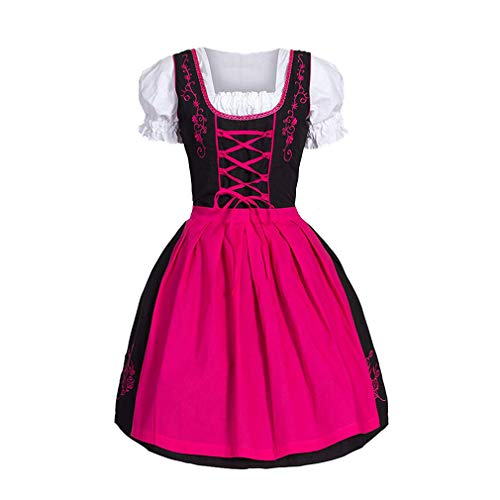 ttelalter Renaissance Vintage Bandage Lady Bauer Kleid Mädchen viktorianischen Kleid für Party Cosplay ()
