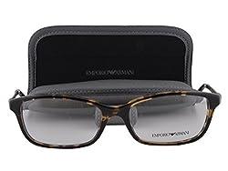 Emporio Armani EA 3031 Eyeglasses 55-17-140 Yellow Havana 5228 EA3031