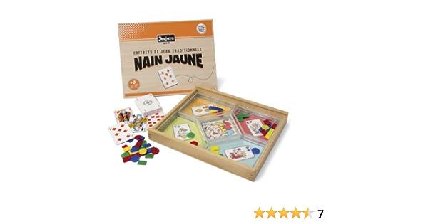 Jeujura 8138 Jeu De Plateau Jeu Du Nain Jaune Coffret En Bois Amazon Fr Jeux Et Jouets