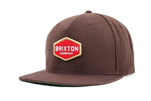 Brixton Unisex Headwear Obtuse Snapback brown