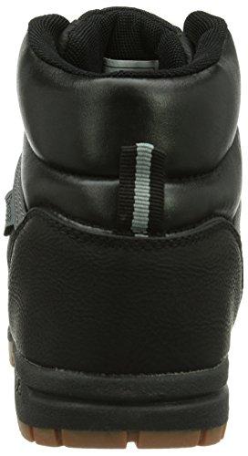 Kappa BRIGHT T, Sneaker a collo alto Unisex - bambino Nero