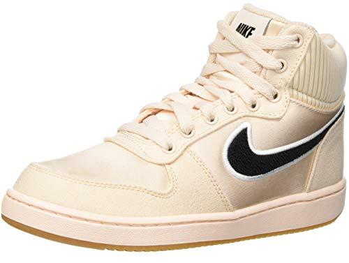 Nike Damen WMNS Ebernon Mid Prem Basketballschuhe, Mehrfarbig (Guava Ice/Black/Gum Light Brown 800), 38 EU