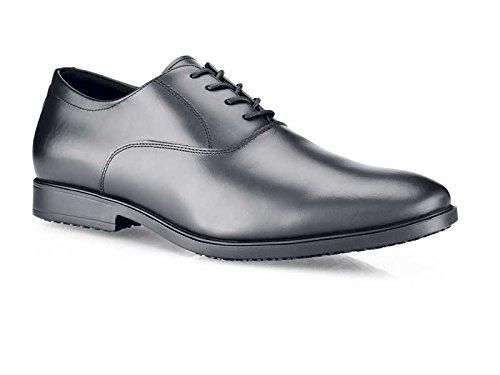 33-46/11/12Stil Ambassador CE und OB zertifiziert rutschfeste Herren Schuhe, Größe 46, Schwarz ()