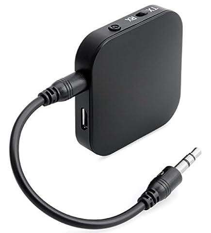 SEGURO BT-4Transmitter alıcı özellikleri 2-in-1verici alıcısı, 3,5mm stereo kablo, Bluetooth 4,1aptX düşük gecikme, aynı anda 2cihazı ile, ev ve araba için bağlantı