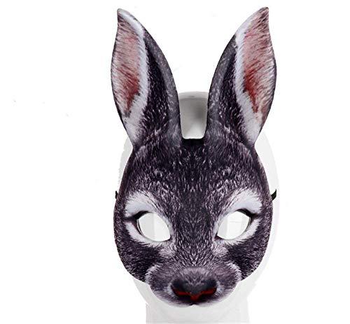 Kostüm Maskottchen Kaninchen - nice shop now Latex-Maske für Cosplay, Kaninchen, Halloween, Kostüm, Party