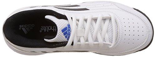 adidas Performance Unisex-Kinder Sonic Attack K Tennisschuhe White (Ftwr White/Core Black/Matte Silver)