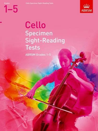 Cello Specimen Sight-Reading Tests, ABRSM Grades 1-5: from 2012 (ABRSM Sight-reading)