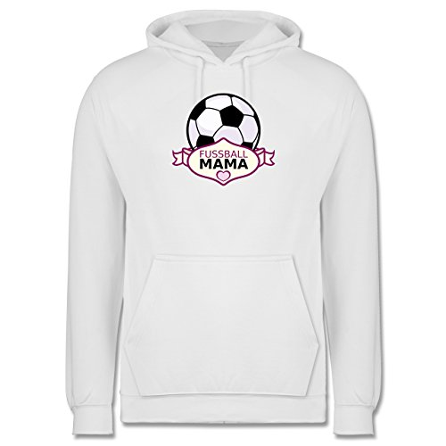 Fußball - Fußball Mama - Männer Premium Kapuzenpullover / Hoodie Weiß