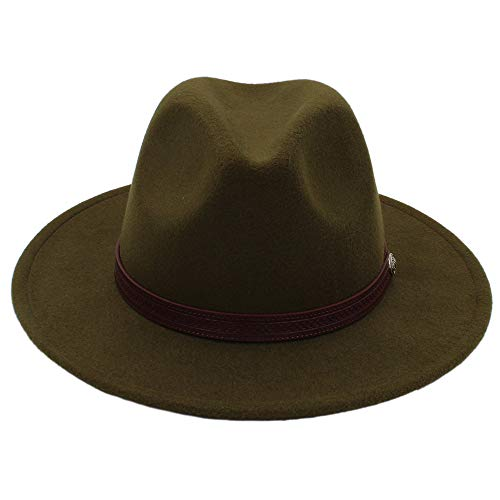 Sombrero - Otoño Invierno Sombreros para el sol Mujeres Hombres Sombrero de  Fedora Sombrero clásico Ancho d2c398d8eb7
