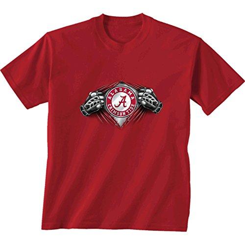 New World Graphics NCAA Alabama Crimson Tide Kinder Unisex Jugend Super Short Sleeve Tee XL Kardinal -