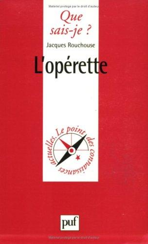 L'Opérette