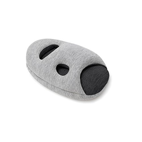 Preisvergleich Produktbild STUDIO BANANA THiNGS - Reisekissen OSTRICH PILLOW MINI - Midnight Grey