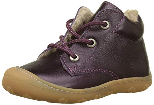 RICOSTA Baby Mädchen Corby Sneaker, Rot (Merlot 386), 22 EU