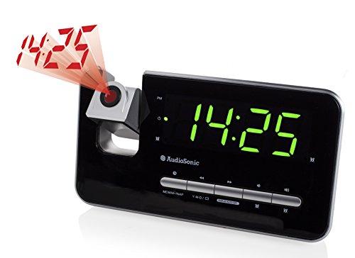 AudioSonic CL-1492 Uhrenradio silber - 5