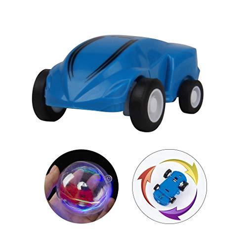 Joyibay Kinder Rennfahrer Auto 360 ° Spin Blitzlicht Schnelle Geschwindigkeit Mini Auto Stunt Auto