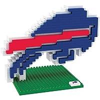 Buffalo Bills NFL Football Team 3D BRXLZ Logo Puzzle